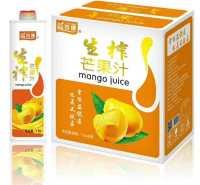 金登河生榨芒果汁1.5L系列,厂家直发,物美价廉