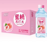 金登河蜜桃苏打水350ml,无气无糖,厂家直发,物美价廉