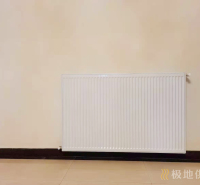 六安墙暖案例恒大御景湾明装暖气施工