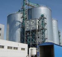 厂家定制大型水泥库  焊接钢板库