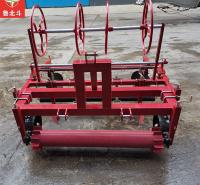 雪豹厂家定制 150型平地铺膜铺管一体机