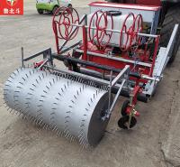 150型洋葱旋耕铺膜施肥铺管镇压打药定置一体机 雪豹厂家定制