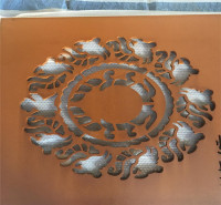红锈钢板 锈蚀钢板 耐候板Q345NH 钢板现货加工 镂空折弯焊接