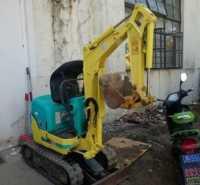 微型勾机园林工程内挖沟小挖机挖土机械工程挖掘机