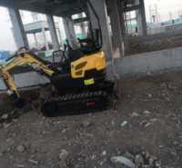 多功能工程小挖机挖土机械勾电动市政室内挖挖掘机