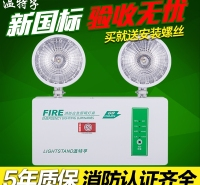 充电指示双头二合一照明一体停电疏散灯标志照明灯