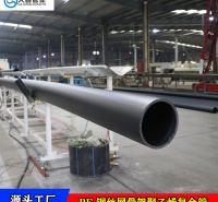 山东淄博pe管道厂家  山东钢丝网骨架塑料复合管  dn200钢丝骨架pe热熔管