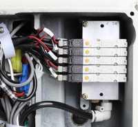 电脑圆头工业全自动平头钮孔五线一体电动多扣眼机