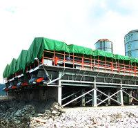 厂家直销 全套定制 打桩泥浆压滤机 泥浆分离固化机 高架式污泥压滤机