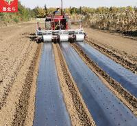 欢迎来厂定制 280型萝卜旋耕起垄镇压铺膜一体机