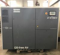 上海厂家直销阿特拉斯无油变频ZT37VSD空压机租赁