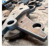 标之龙金属Q345B超厚低合金300mm厚度切割下料牌坊件加工零割
