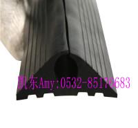 电缆遮瑕通道管 凯东橡胶电缆套 大孔径橡胶电缆保护套  可裁剪落地线PVC保护器