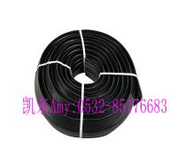 电缆遮瑕通道管 凯东橡胶PVC电缆套 大孔径橡胶电缆保护套  可裁剪落地电线保护器