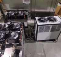 工业风冷式冷却水循环快速降温吹塑低温冷却制冷机