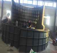 致宏 检查井钢模具厂家 模块式雨水检查井砌块模具  矩形检查井砌块模具厂 生产工厂