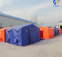 充气式应急帐篷 定做充气帐篷 便安装 无需搭建