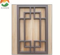 厂家直供中空玻璃装饰格栅条美景条门窗封边条铝隔条加工定制MUSUN022