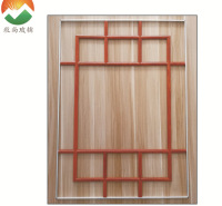 牧尚厂家直供中空玻璃格栅条中空铝隔条玻璃封边条定制批发装饰条MUSUN011