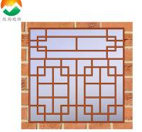 厂家直供中空玻璃美景条装饰条中式仿古门窗装饰条铝隔条加工定制MUSUN025