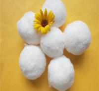 供应改性纯白纤维球 污水专用截污培菌过滤纤维材料 纤维球滤料