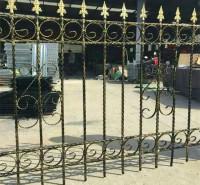 小区围墙 铁艺护栏  庭院别墅隔离喷塑围栏厂家直销