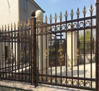 定制铝合金护栏 别墅小区隔离栏 铝材围栏可定做围墙护栏厂家直销