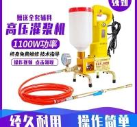 灰浆螺杆钻孔电动移动式实验室细石变档双液注浆泵