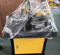 液压三合一铜排切断打孔电动一体机80吨闭折弯机