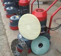 混凝土手推式金刚石水磨石无尘除锈吸尘地板研磨机