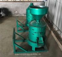碾米粉碎新型商用小米用柜式精米三相电稻城打米机