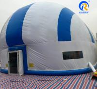定制充气帐篷 便携式充气帐篷  可设置空调系统 冬暖夏凉