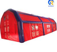 封闭式充气帐篷 大型充气帐篷厂家 可设置空调系统 冬暖夏凉