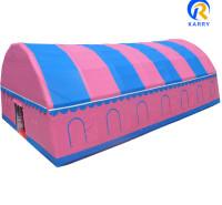 定制充气帐篷 便携式充气帐篷  收放自如 移动方便
