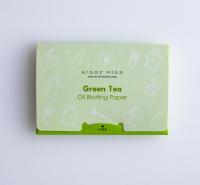 绿茶香氛颗粒吸油纸 吸附功能强 去除脸部油脂