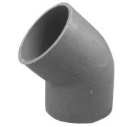 pvc管件 pvc弯头加厚灰色塑料管件接头