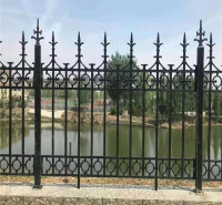 铸铁护栏 铁艺护栏 铁艺栏杆围墙 铁栅栏 铸铁围栏厂家定制