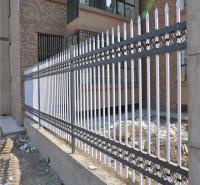 锌钢护栏围墙护栏栅栏 学校小区铁艺围栏 别墅社区工厂锌钢护栏