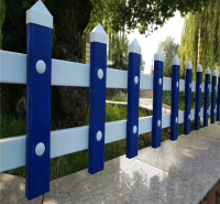 pvc草坪护栏 园林绿化隔离护栏 绿化带护栏 锌钢草坪护栏厂家定制