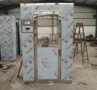 智能语音风淋室 手动门风淋室 食品厂用不锈钢风淋室制造商