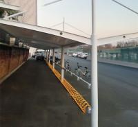 充电桩膜结构停车棚厂家 郑州电动车充电雨棚 厂家直销 品质可靠