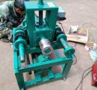 电动方管小型液压不锈钢大棚加重型方圆管大卷圆机
