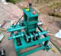 方管小型液压不锈钢铜管大棚压弧卷圆大棚圆弯弧机