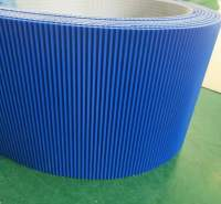 PVC挡板输送带  章丘华锋橡塑 助卷机输送带 非标准件 品质保证