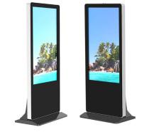 双面显示屏广告机 定制电梯广告机 科技感十足 造型新颖独特