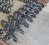绞龙螺旋叶片 供应绞龙螺旋叶片 表面光洁规整 精度高