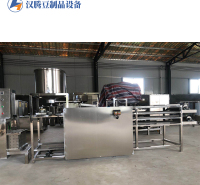 汉腾豆制品设备 小型豆皮机 全自动千张加工设备 干豆腐制造一体机