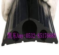 大孔径橡胶电缆保护套 橡胶电缆套 电缆遮瑕通道管  可裁剪落地线PVC保护器