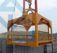 叉车式蒸养砖行吊机械夹 小型蒸养砖抱砖机械夹 质优价廉 值得信赖