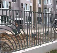 铁艺焊接护栏 东昇铁艺小区围栏 焊接铁艺护栏 别墅庭院栏杆
